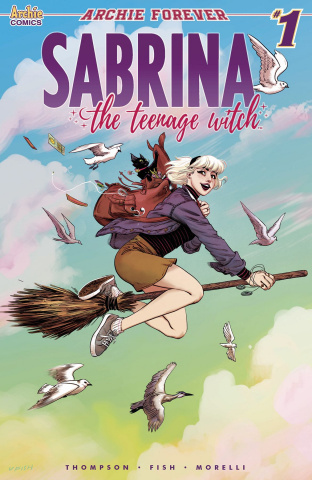 Sabrina, The Teenage Witch #1 (Fish Cover)