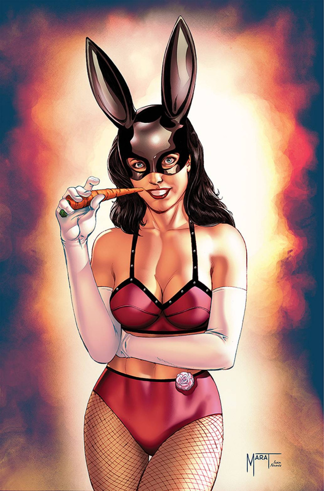 Bettie Page and The Curse of the Banshee #1 (Mychaels Virgin Cover)