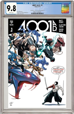 4001 AD #1 (CGC Replica Henry Cover)