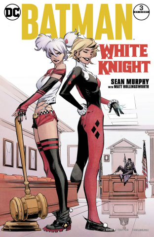 Batman: White Knight #3 (Variant Cover)