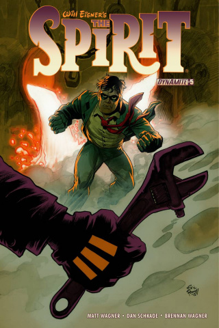 The Spirit #5 (Powell Cover)
