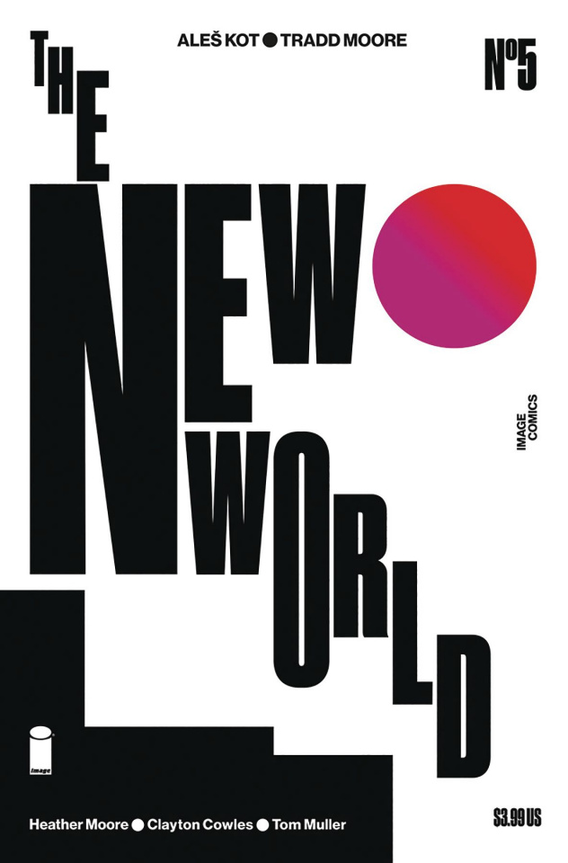 The New World #5 (Moore & Muller Cover)