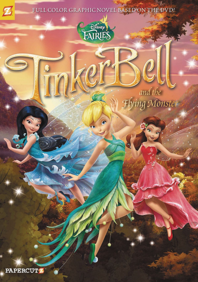 Disney's Fairies Vol. 19: Tinker Bell and the Flying Monster