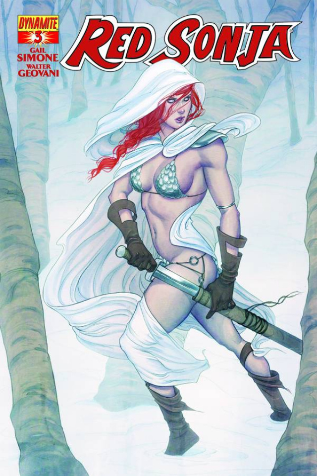Red Sonja #3 (Frison Cover)