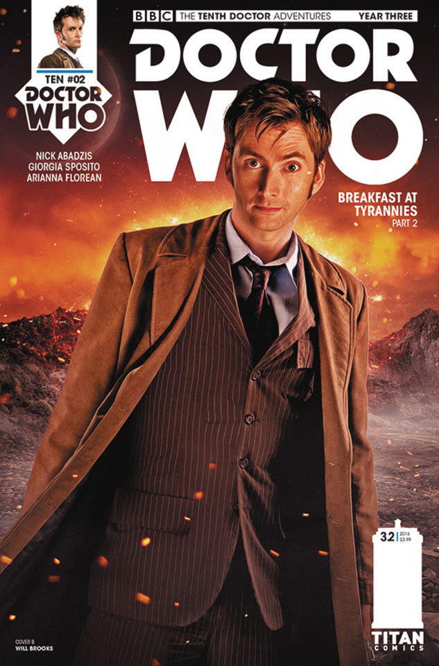 Doctor Who: New Adventures with the Tenth Doctor, Year Three #2 (Photo Cover)