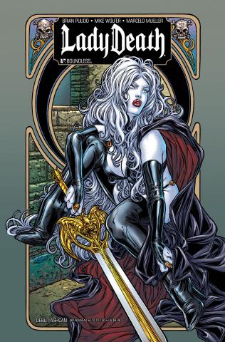 Lady Death: Debut Ashcan (Art Nouveau Cover)
