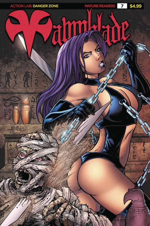 Vampblade #7 ('90s Monster Cover)