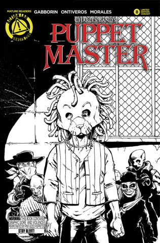 Puppet Master #8 (Sketch Cover)