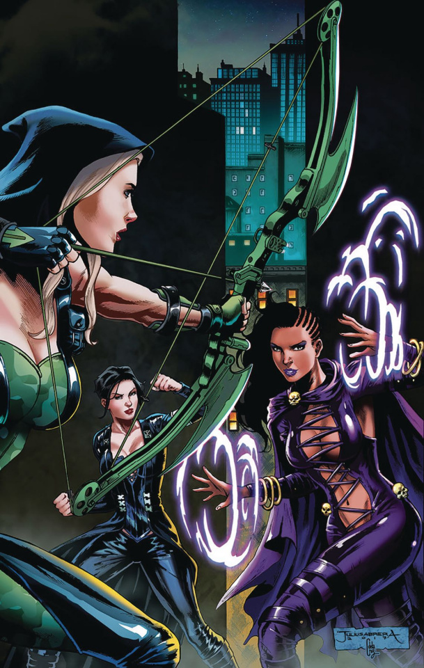 Robyn Hood: The Curse #2 (Abrera Cover)