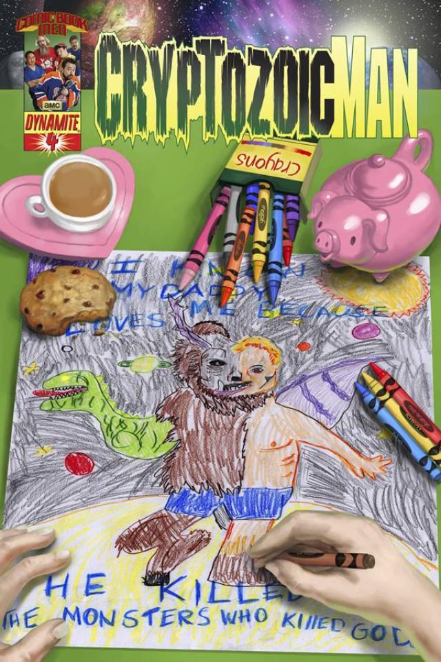 Cryptozoic Man #4