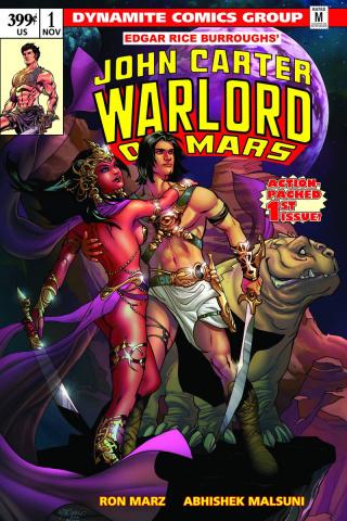 John Carter: Warlord of Mars #1 (Lupacchino Cover)