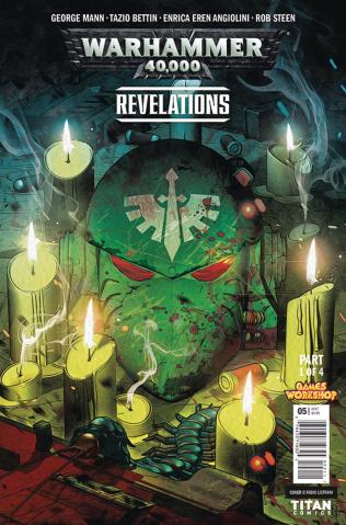 Warhammer 40,000: Revelations #1 (Listrani Cover)