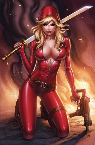 Grimm Fairy Tales: Red Agent #4 (Rich Cover)