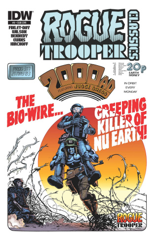 Rogue Trooper Classics #8 (Subscription Cover)