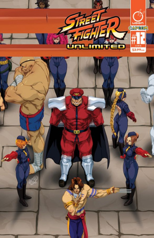 Street Fighter Unlimited #12 (Cruz Ultra Jam Cover)