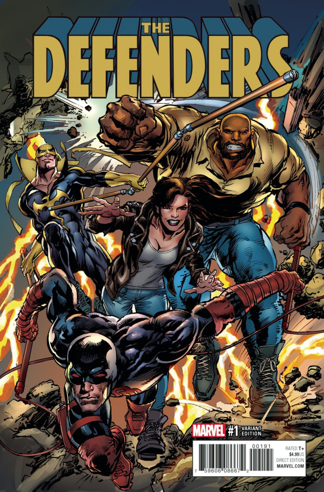 The Defenders #1 (Adams Cover)