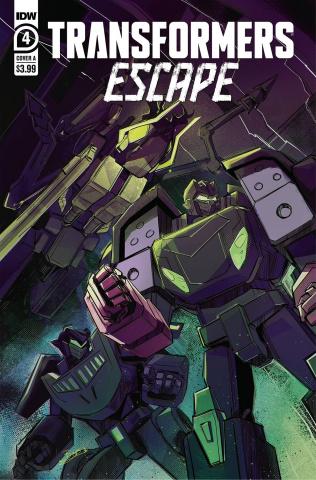 Transformers: Escape #4 (McGuire-Smith Cover)