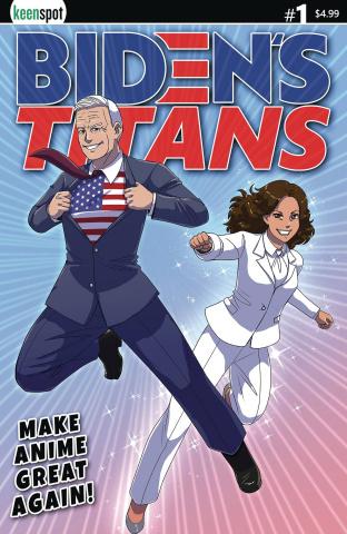Biden's Titans #1 (Joseco Cover)