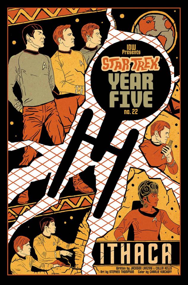 Star Trek: Year Five #22 (10 Copy Lendl Cover)