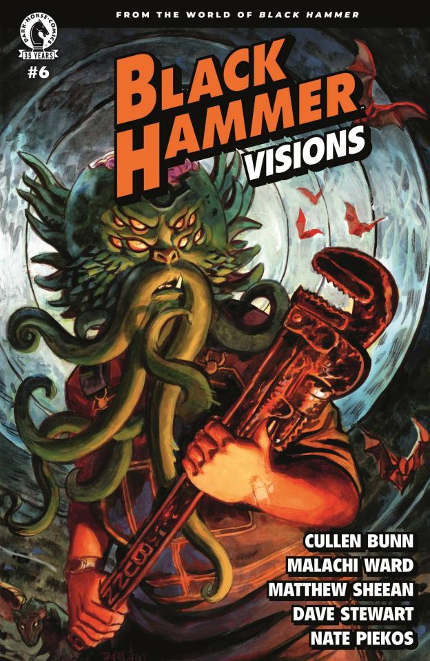 Black Hammer: Visions #6 (Brereton Cover)