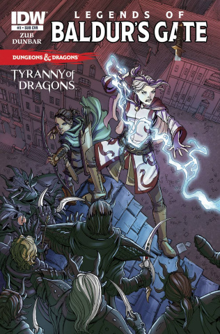 Dungeons & Dragons: Legends of Baldur's Gate #3 (Subscription Cover)