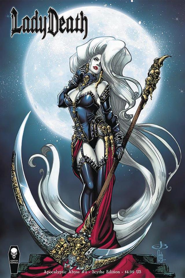 Lady Death: Apocalyptic Abyss #1 (Scythe Cover)