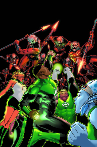 Green Lantern Corps: The Lost Army