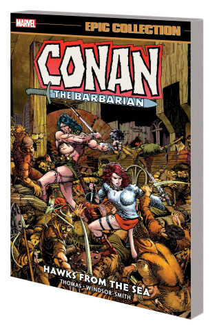 Conan the Barbarian: Hawks from the Sea (Epic Collection)