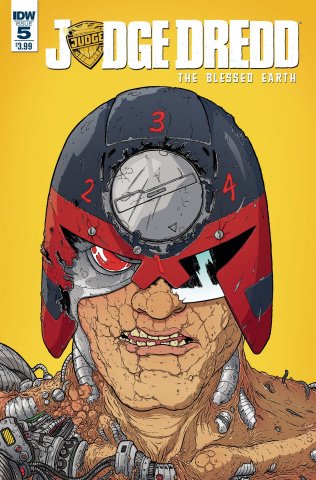 Judge Dredd: The Blessed Earth #5 (Farinas Cover)