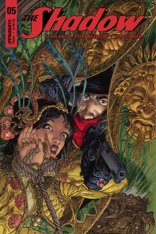The Shadow #5 (Kaluta Cover)