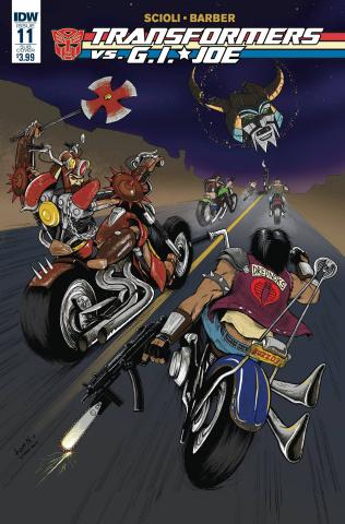 Transformers vs. G.I. Joe #11 (Subscription Cover)