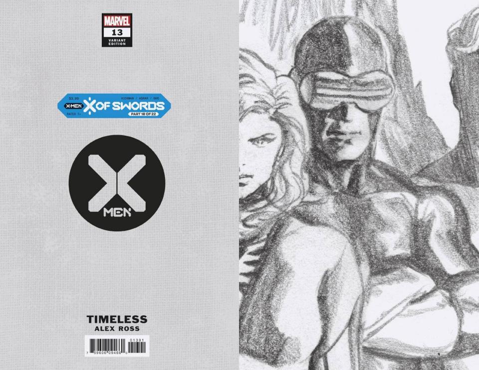 X-Men #13 (Alex Ross Cyclops Timeless Virgin Sketch Cover)
