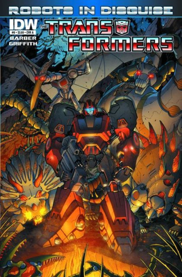 The Transformers: Robots in Disguise #8