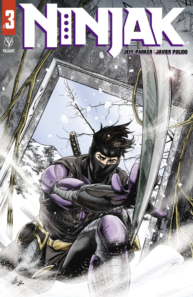 Ninjak #3 (Martinez Cover)