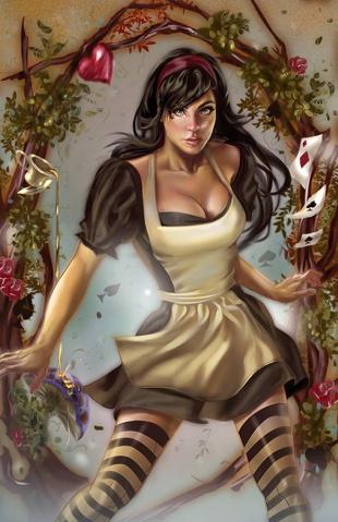 Grimm Fairy Tales: Wonderland #41 (Delara Cover)