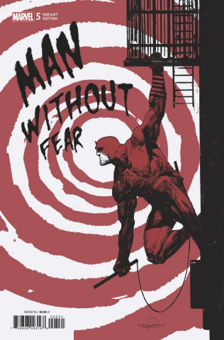 The Man Without Fear #5 (Zaffino Cover)