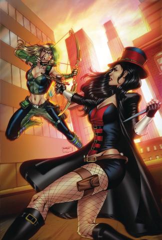 Van Helsing vs. Robyn Hood #1 (Goh Cover)