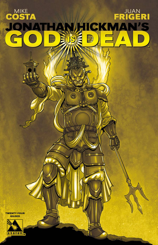 God Is Dead #24 (Gilded Cover)