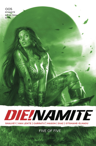 DIE!namite #5 (21 Copy Parrillo Tint Cover)