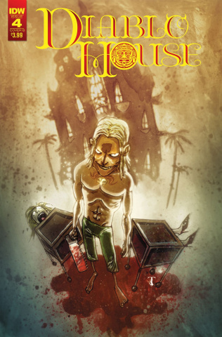 Diablo House #4 (Templesmith Cover)