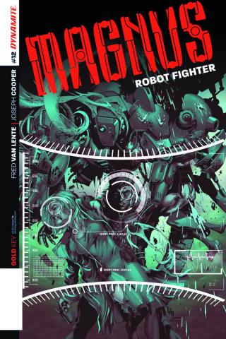 Magnus, Robot Fighter #12 (Lau Cover)