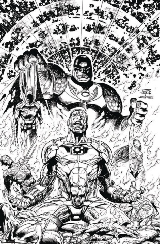 Cyborg #3 (Variant Cover)