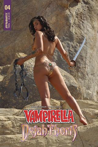 Vampirella / Dejah Thoris #4 (Dejah Thoris Cosplay Cover)