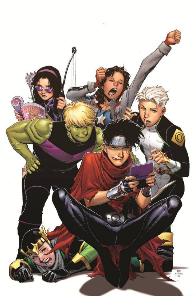 Young Avengers #5 (Cheung Cover)
