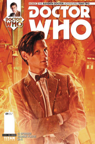 Doctor Who: New Adventures with the Eleventh Doctor, Year Two #9 (Photo Cover)