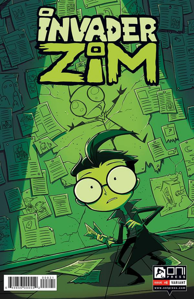 Invader Zim #8 (Lawton Cover)