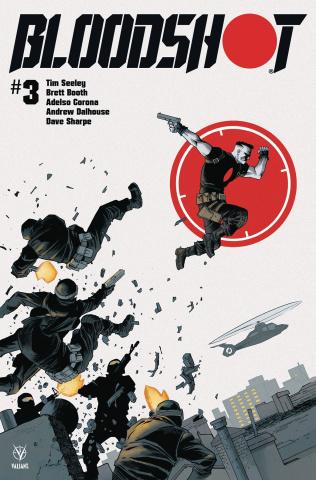 Bloodshot #3 (Shalvey Cover)