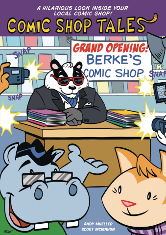 Comic Shop Tales Book. 1: Grand Opening