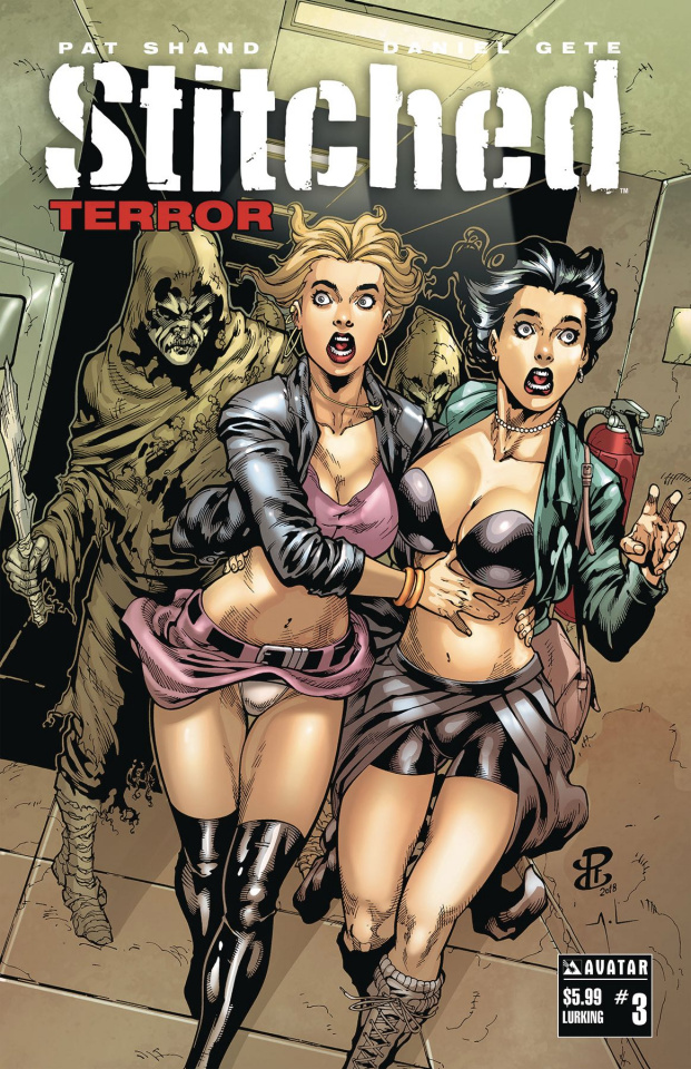 Stitched: Terror #3 (Lurking Cover)