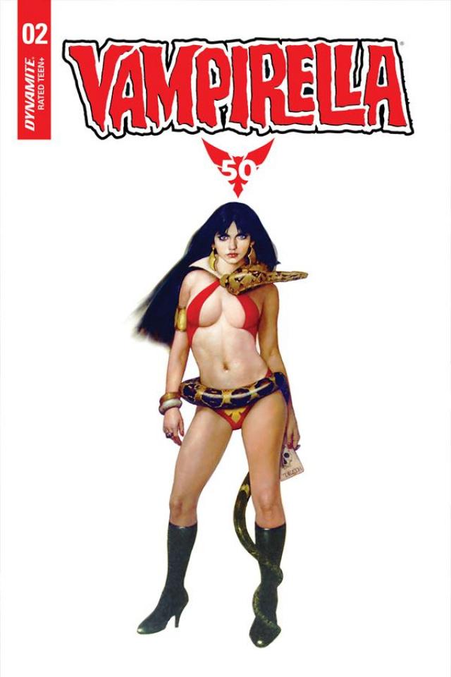 Vampirella #2 (Sanjulian Cover)